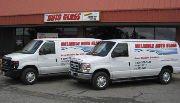 Reliable Auto Glass Mobile Service Trucks